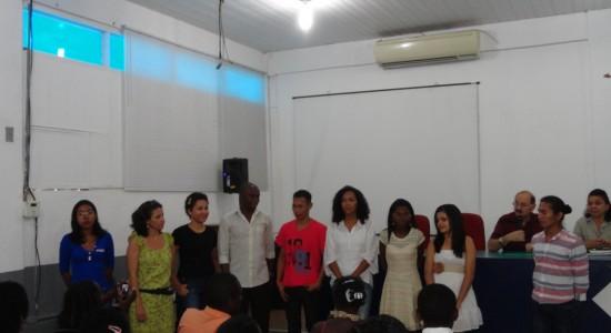 Ato de recepção dos novos alunos do Programa de Mestrado em Cartografia Social e Política da Amazonia  (PPGCSPA)