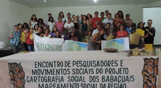 Encontro reúne pesquisadores e movimentos sociais do Projeto Cartografia Social dos Babaçuais