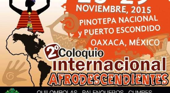 2º Colóquio Internacional Afrodescendientes