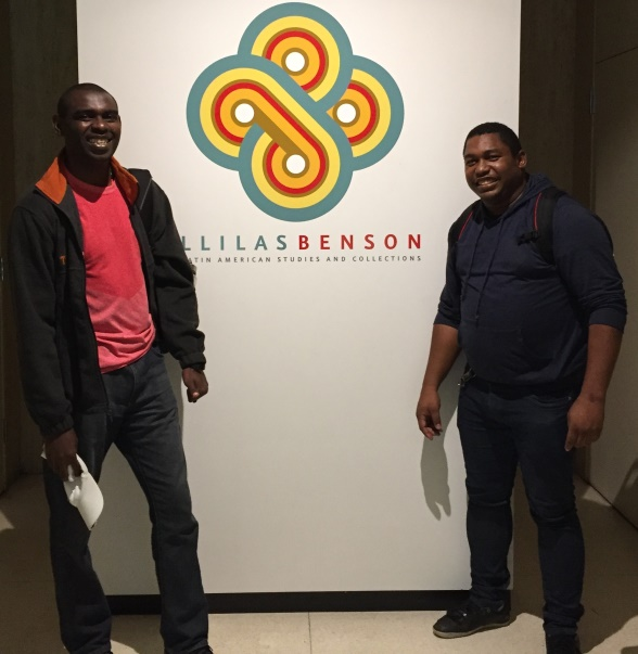 Rony Castillo, Garifuna of Honduras  and Davi Pereira, Quilombola  of Brazil PhD Students LILLAS/BENSON (2015-2019)