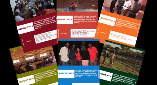 Lançamento dos Reports Produzidos no Âmbito do Projeto Cartografia Social e Capacitação Técnica de Pesquisadores e Movimentos Sociais no Quênia e no Brasil