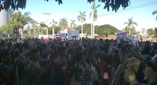 MARCHA DE POVOS E COMUNIDADES TRADICIONAIS EM PALMAS-TOCANTIS