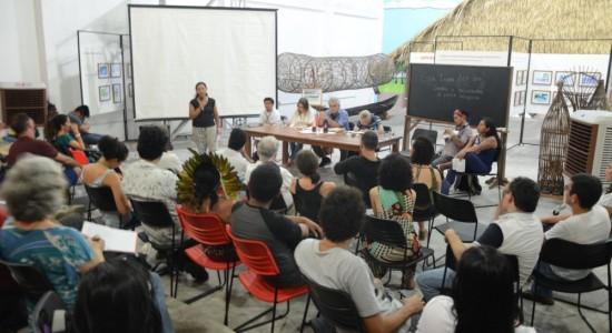 """Debate """"Esta terra tem dono"""" Caminhos e descaminhos da política indigenista em 13 de julho de 2016"""