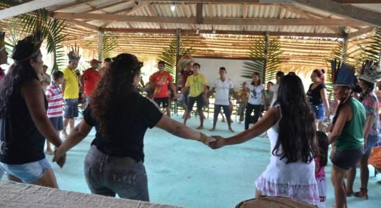 10º ANIVERSÁRIO DA COMUNIDADE INDÍGENA KOKAMA DO RAMAL DO BRASILEIRINHO, NA CIDADE DE MANAUS-AM
