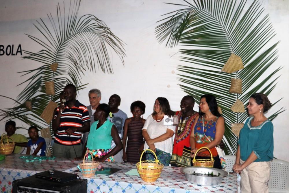 Quenianos na na inauguração do Centro de Ciencias e Saberes Apolônio Machado em Penalva/MA