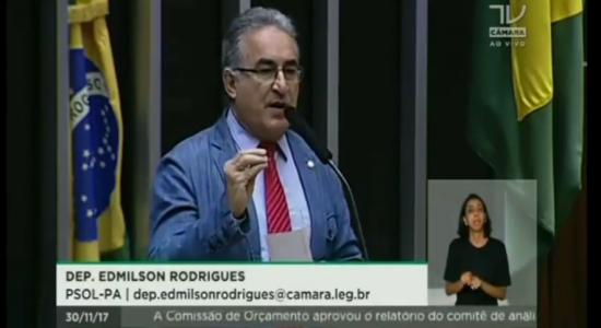 Pronunciamento Dep. Edmilson Rodrigues (PSOL-PA) repudia violência em seminário sobre Belo Sun