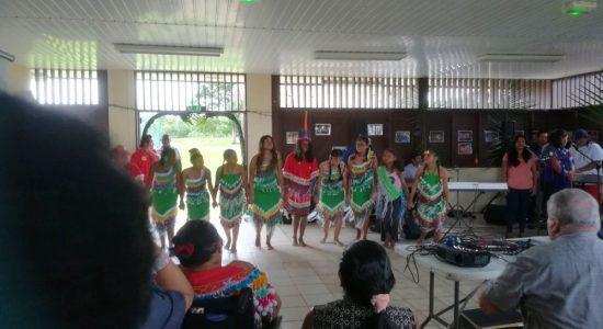 Boletim Informativo 2 Na Lokono Arowaka Kahutshi  Shikwa Khona Sainte Rosa de Lima,  Kayeninro é lançado no Village Sainte Rose de Lima,  Guiana Francesa